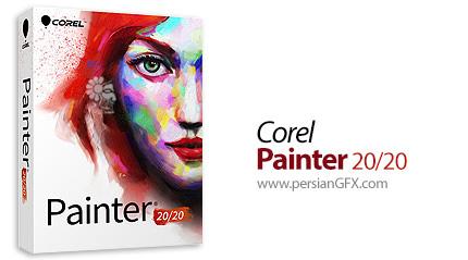 دانلود نرم افزار خلق نقاشی های طبیعی - Corel Painter 2020 v20.0.0.256 x64