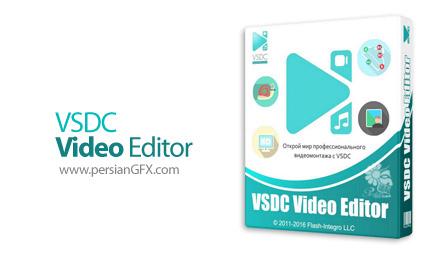 دانلود نرم افزار ساخت و ویرایش ویدئو - VSDC Video Editor Pro v6.3.5.7/8 x86/x64