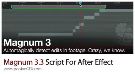 دانلود اسکریپت Magnum 3.3 برای برش سکانس های فیلم در افتر افکت - Magnum 3.3 Script For After Effect