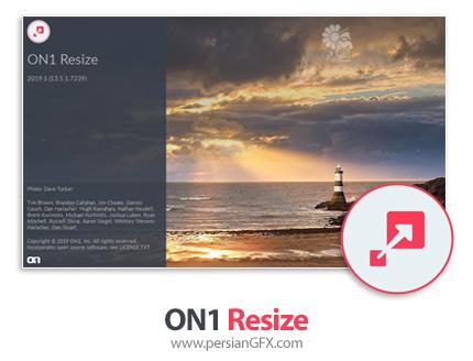دانلود نرم افزار ویرایش و تغییر سایز تصاویر بدون کاهش کیفیت - ON1 Resize 2019.2 v13.2.0.6689 x64