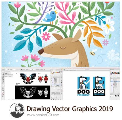 دانلود آموزش طراحی گرافیک برداری در ایلوستریتور از لیندا - Lynda Drawing Vector Graphics (2019)