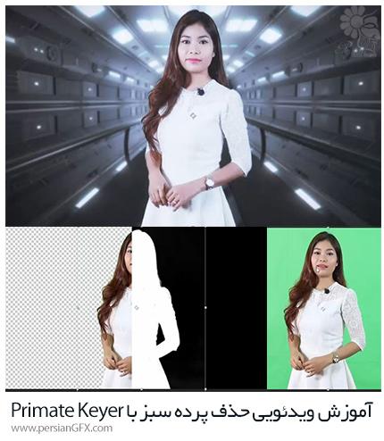 دانلود آموزش ویدئویی حذف حرفه ای پرده سبز با ابزار Primatte Keyer 6 در پلاگین RedGiant VFX به زبان فارسی