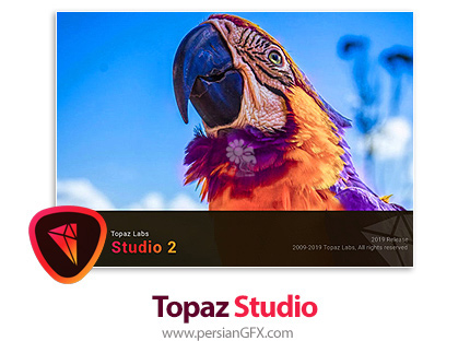دانلود نرم افزار ویرایش عکس با پلاگین های فتوشاپ توپاز - Topaz Studio v2.3.0 x64