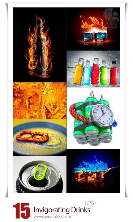 دانلود 15 عکس با کیفیت نوشیدنی های انرژی زا - Invigorating Drinks