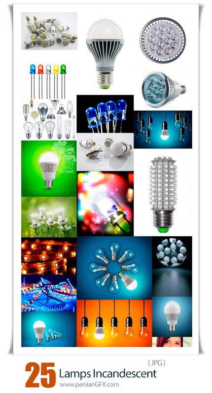 دانلود 25 عکس با کیفیت لامپ های رشته ای - Lamps Incandescent
