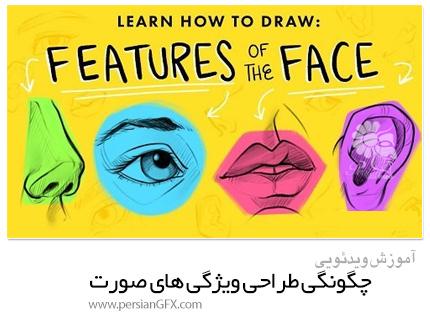 دانلود آموزش چگونگی طراحی ویژگی های صورت - Skillshare Learn How To Draw: Features Of the Face