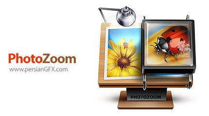 دانلود نرم افزار بزرگ کردن تصاویر با حداقل افت کیفیت - Benvista PhotoZoom Pro v8.0 Standalone