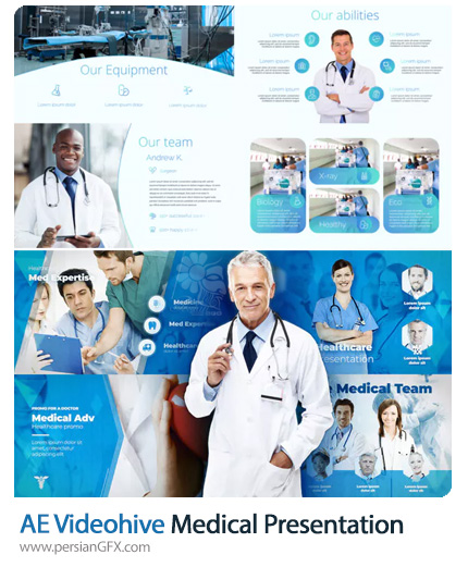 دانلود 2 پروژه افترافکت پرزنتیشن های پزشکی - Videohive Medical Presentation