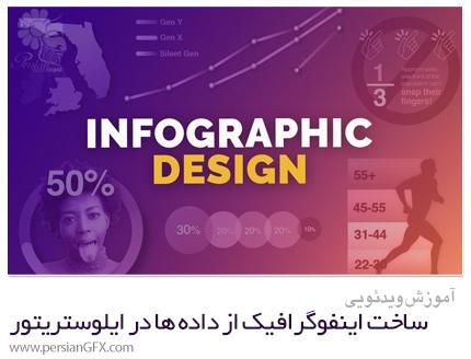 دانلود آموزش ساخت اینفوگرافیک از حقایق و داده ها در ایلوستریتور - Skillshare Infographic Design: Learn To Create Compelling Graphics From Facts And Data