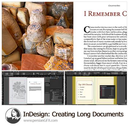 دانلود آموزش ایجاد اسناد طولانی در ایندیزاین سی سی - Lynda InDesign: Creating Long Documents