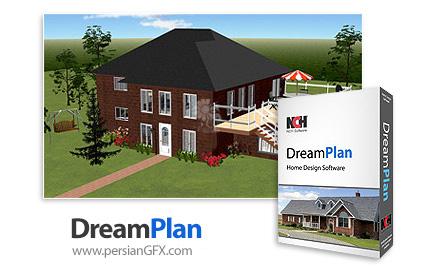 دانلود نرم افزار طراحی خانه و فضای داخلی - NCH DreamPlan Plus v4.27 Beta