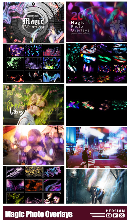 دانلود مجموعه تصاویر پوششی جادویی - Magic Photo Overlays