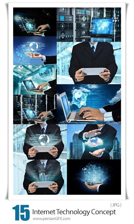 دانلود 15 عکس با کیفیت اینترنت و تکنولوژی - Internet Programming Technology Concept