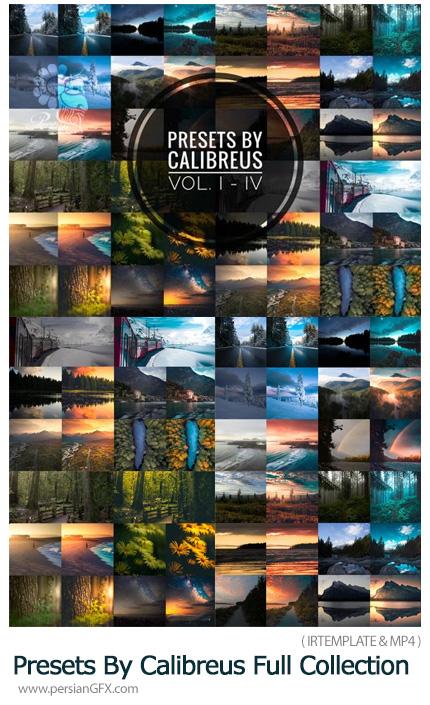 دانلود مجموعه فوق حرفه ای پریست لایت روم به همراه آموزش ویدئویی - Presets By Calibreus Full Collection Volume I - IV