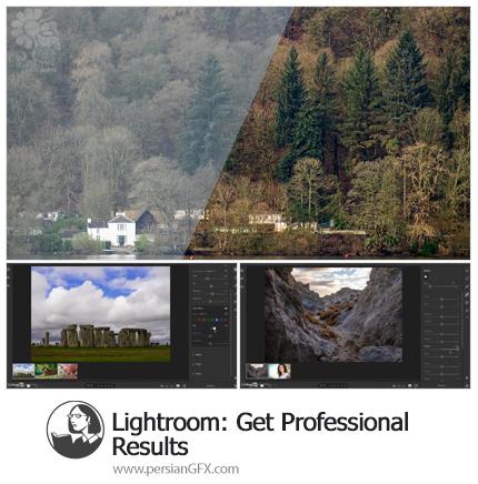 دانلود آموزش گرفتن نتایج حرفه ای در لایتروم - Lynda Lightroom: Get Professional Results
