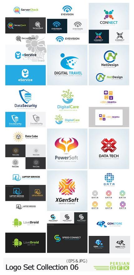 دانلود وکتور آرم و لوگوهای متنوع - Logo Set Collection 06