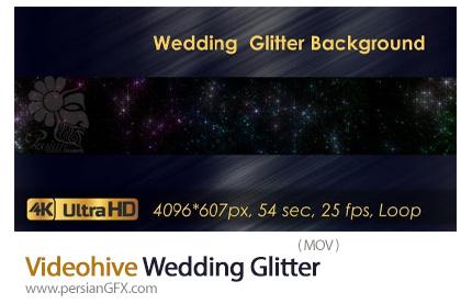 دانلود ویدیوی موشن گرافیک پر زرق و برق برای کلیپ عروسی - Videohive Wedding Glitter