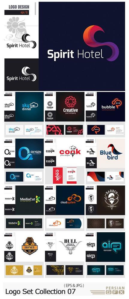 دانلود وکتور آرم و لوگوهای متنوع - Logo Set Collection 07