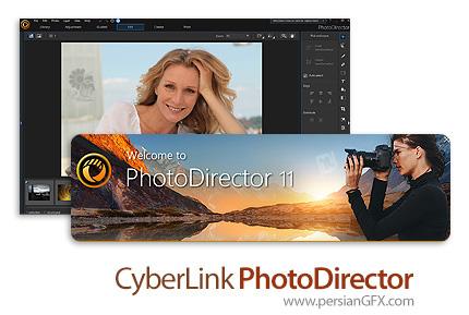 دانلود نرم افزار ویرایش عکس - CyberLink PhotoDirector Ultra v11.0.2203.0 x64