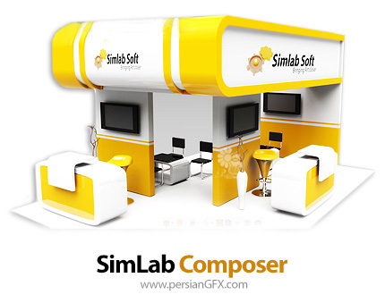 دانلود نرم افزار طراحی سهبعدی - SimLab Composer 9 v9.2.10 x64