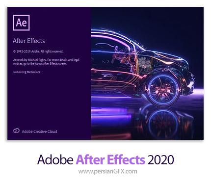دانلود نرم افزار ادوبی افتر افکت 2020 - Adobe After Effects 2020 v17.0.1.52 x64
