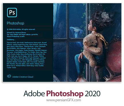 دانلود نرم افزار ادوبی فتوشاپ 2020 - Adobe Photoshop 2020 v21.0.3.91 x64