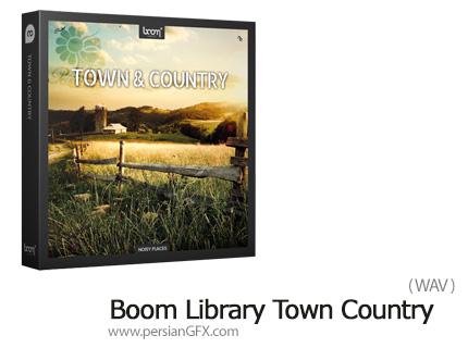 دانلود مجموعه افکت صوتی محیط ییلاق و دهات - Boom Library Town Country