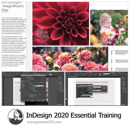 دانلود آموزش نکات ضروری ایندیزاین سی سی 2020 - Lynda InDesign 2020 Essential Training