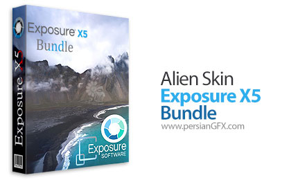 دانلود مجموعه نرم افزار و پلاگین های ویرایش حرفه ای و خلاقانه عکس های دیجیتال - Alien Skin Exposure X5 Bundle v5.0.3.1 x64