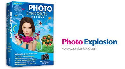 دانلود نرم افزار ویرایش حرفه ای تصاویر - Photo Explosion Deluxe v5.09.26090 + Premier v5.01.26011