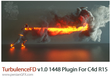 دانلود پلاگین TurbulenceFD برای Cinema 4d R15 - R21 - TurbulenceFD v1.0 1448 Plugin For Cinema 4d R15 - R21