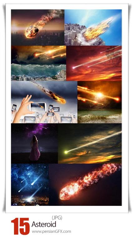 دانلود 15 عکس با کیفیت شهاب سنگ، شهاب و سیارک - Asteroid