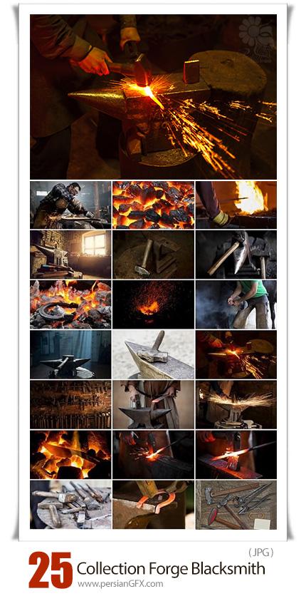دانلود 25 عکس با کیفیت آهنگر، آهن، چکش و ابزار آهنگری - Collection Forge Blacksmith Anvil Forge Hammer Iron