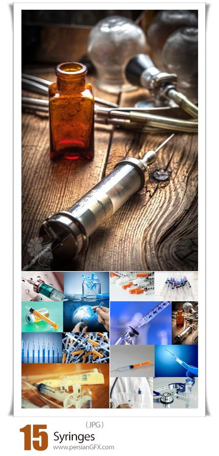 دانلود 15 عکس با کیفیت سرنگ و آمپول - Syringes