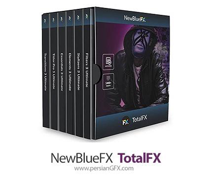 دانلود مجموعه پلاگین ویرایش فیلم و فایل های ویدئویی - NewBlueFX TotalFX7 v7.3.200903 For Adobe AfterFX & Premiere Pro