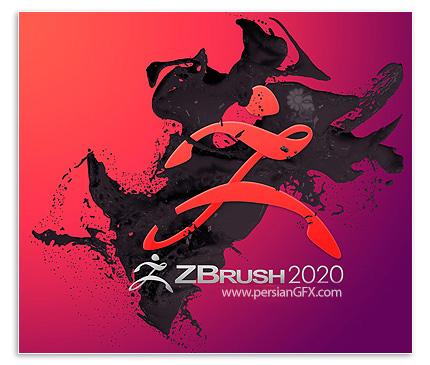 دانلود نرم افزار ساخت انیمیشن های سه بعدی - Pixologic ZBrush v2020.1.0 x64