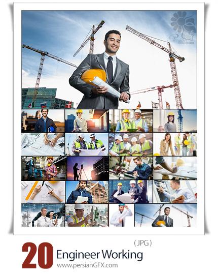 دانلود 20 عکس با کیفیت مهندس ساختمان - Engineer Working