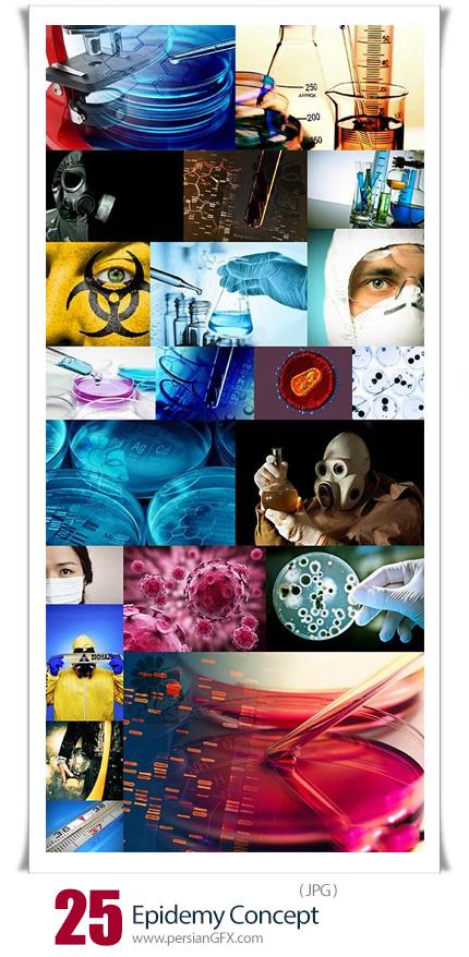 دانلود 25 عکس مفهومی اپیدمی ویروس و بیماری با کیفیت بالا - Epidemy Concept