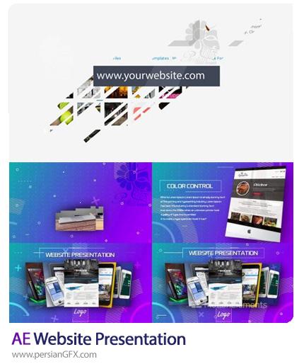 دانلود 2 پروژه افترافکت پرزنتیشن های وب - Website Presentation