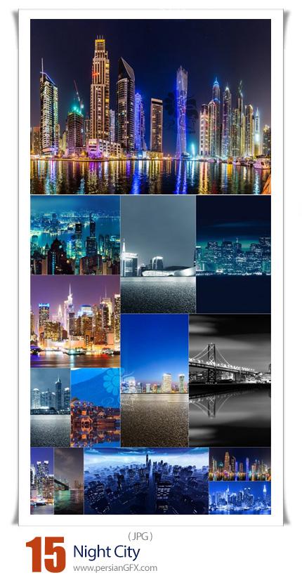 دانلود 15 عکس با کیفیت شهر در شب - Night City