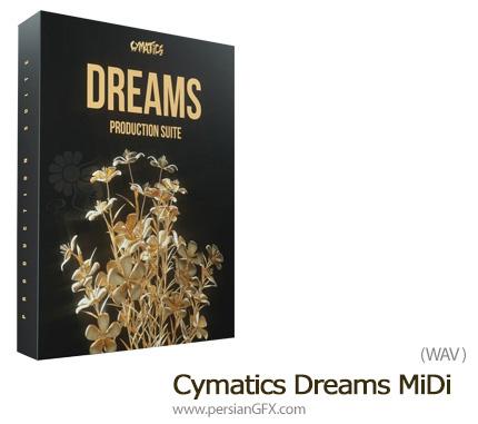 دانلود مجموعه افکت های صوتی آماده برای استفاده در سبک های موسیقی مختلف - Cymatics Dreams WAV MiDi