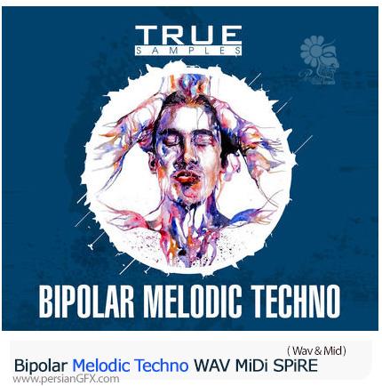دانلود افکت های صوتی تکنو برای کارهای تبلیغاتی و موشن گرافیک - Bipolar Melodic Techno WAV MiDi
