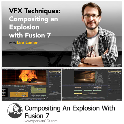 دانلود آموزش پیشرفته تکنیک های انفجار در Fusion 7 - Compositing An Explosion With Fusion 7