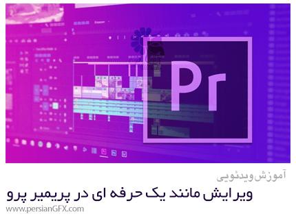 دانلود آموزش دوره کامل ویرایش مانند یک حرفه ای در پریمیر پرو سی سی - Adobe Premier Pro CC Course Edit Like A Pro