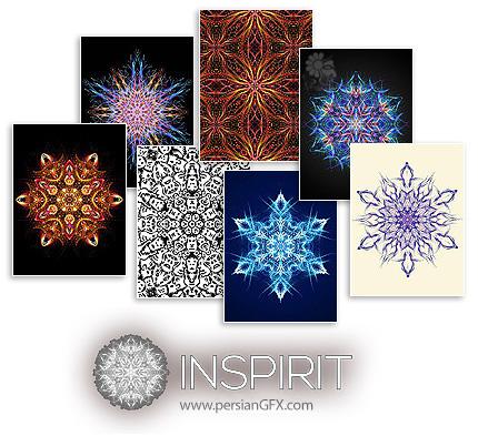 دانلود نرم افزار رسم تصاویر ماندالا و کالئیدوسکوپ - Escape Motions Inspirit v1.1