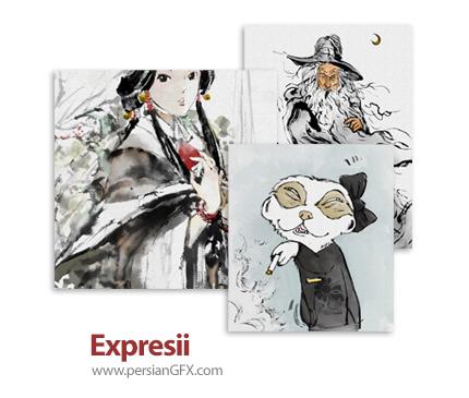 دانلود نرم افزار کشیدن نقاشی آبرنگی - Expresii v2020.08.31