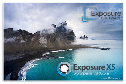 دانلود نرم افزار ویرایش حرفه ای و خلاقانه عکس های دیجیتال - Exposure Software Exposure X5 v5.2.4.306 x64