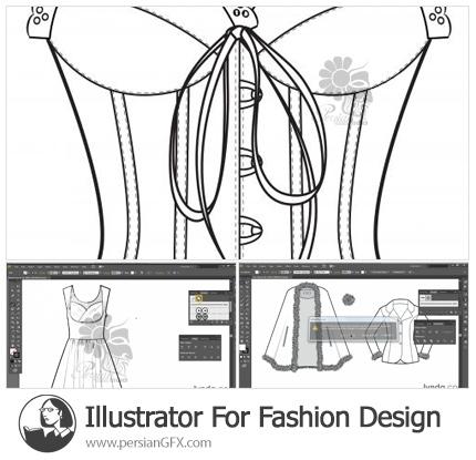دانلود آموزش ایلوستریتور برای طراحی لباس: ایجاد براش ها - Illustrator For Fashion Design: Creating Brushes