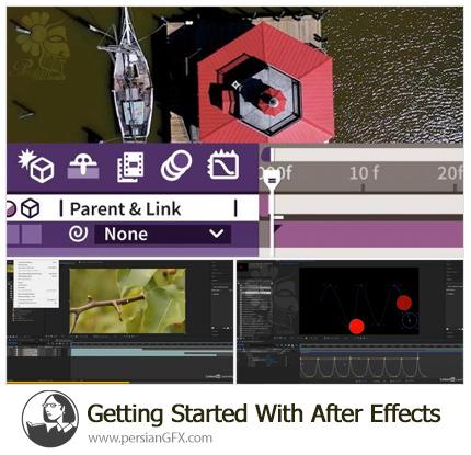 دانلود آموزش شروع کار با ویدئو در افترافکت برای غیر حرفه ای ها - fter Effects For the Non-Video Pro