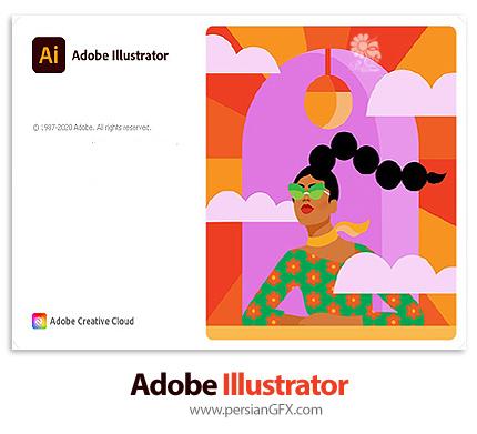 دانلود نرم افزار ادوبی ایلوستریتور 2021 - Adobe Illustrator 2021 v25.0.1.66 x64